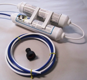 Compact Two Stage Dechlorination Water Filter System